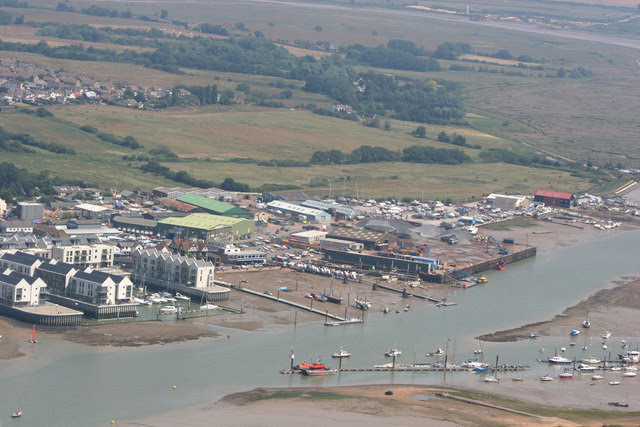 Aerial View Of Brightlingsea Terry Joyce Cc By Sa 2 0