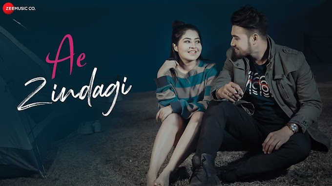 Ae Zindagi lyrics in English & Hindi - Aksjit