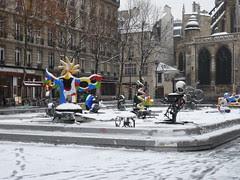 Igor Stravinsky Place With Snow