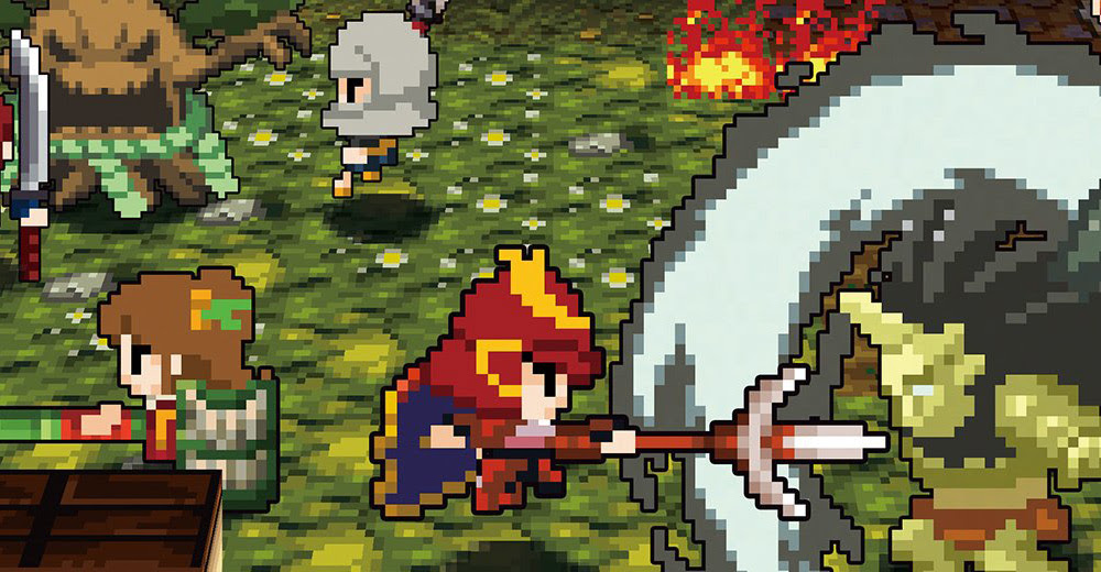 Review in Progress: Cladun Returns: This is Sengoku! screenshot