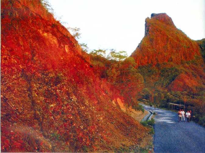 Foto-foto keindahan Gunung Jelud sebelum erupsi