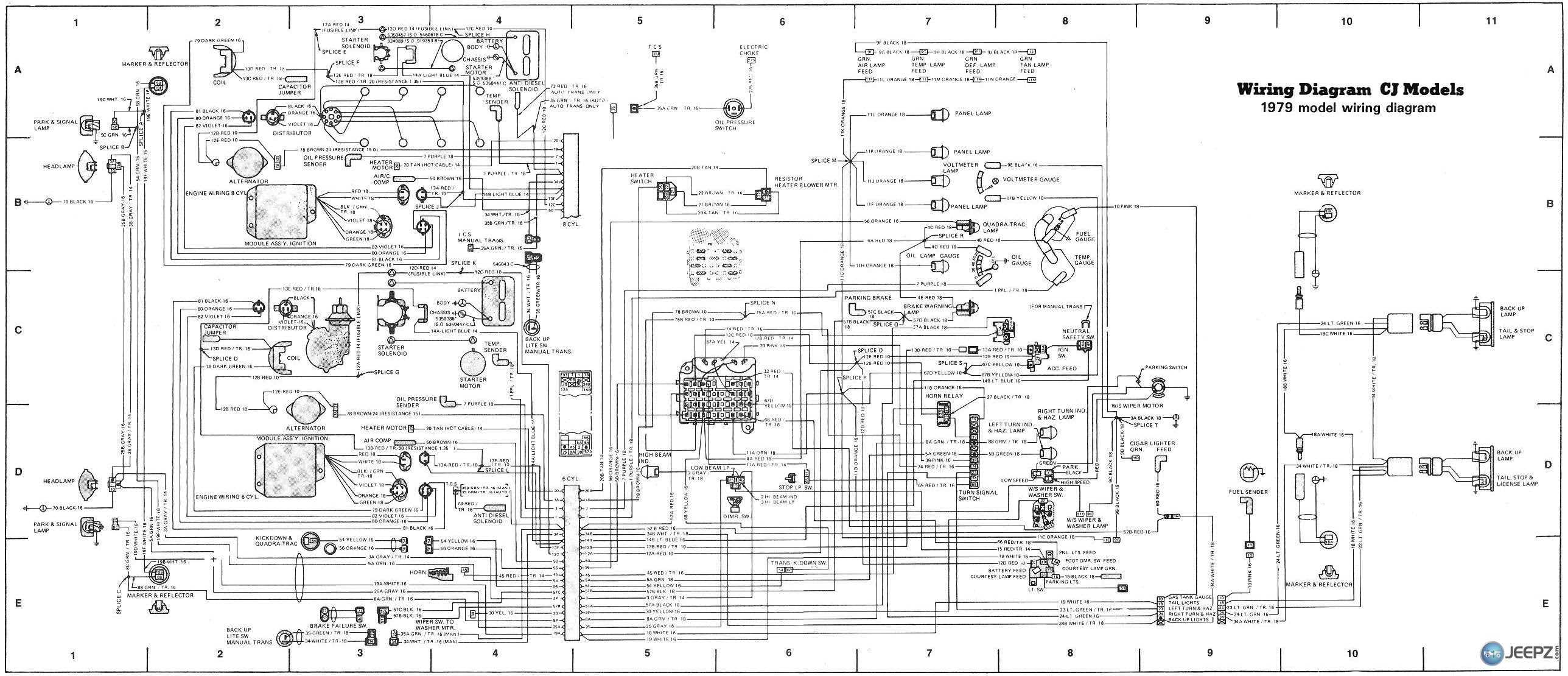 1983 Jeep Cherokee Fuse Box Wiring Diagram Productive Productive Zaafran It