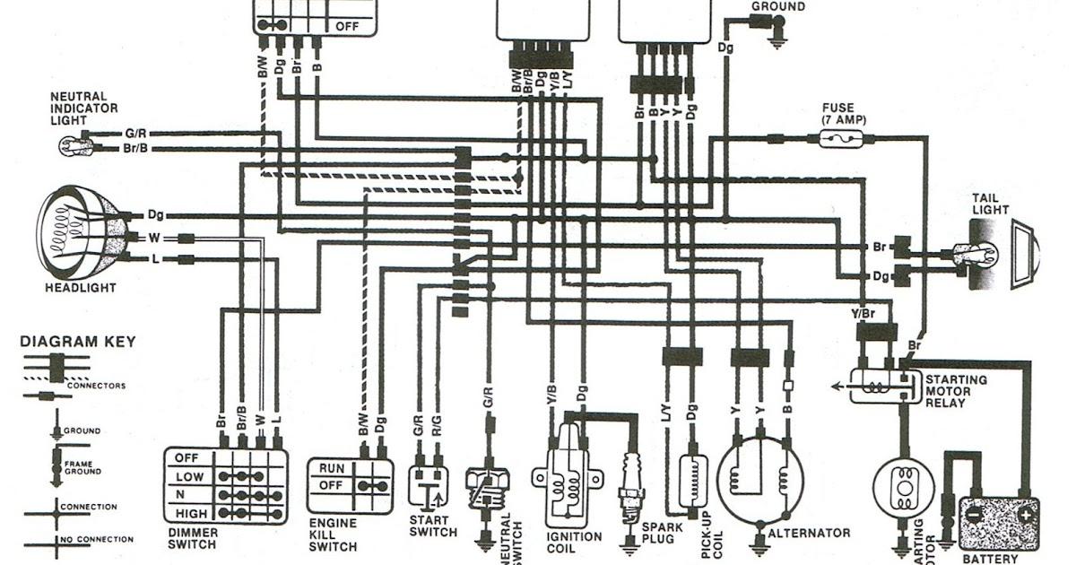 Atc 125m Wiring Diagram - Wiring Diagram Schema