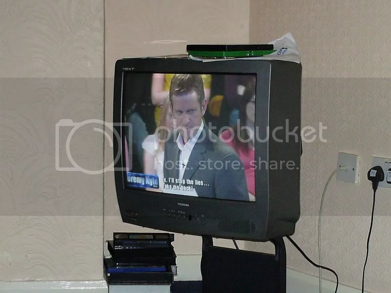 the man on the telly