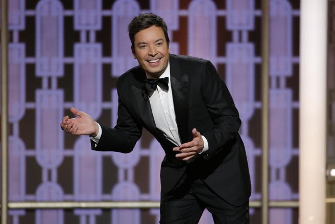 Jimmy Fallon decepcionó como presentador de los Globos de Oro
