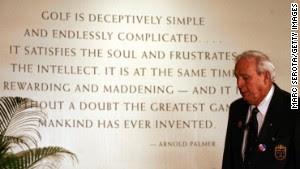 Arnold Palmer: Golf legend