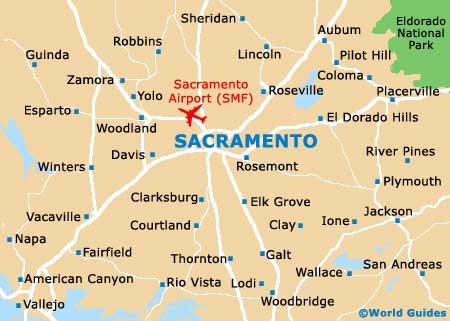 Map Of Sacramento Ca Sacramento Usa Map | Campus Map