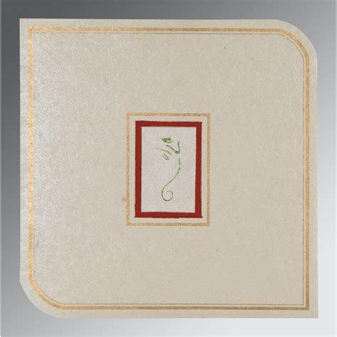 LIGHT GREY HANDMADE SHIMMER FOIL STAMPED WEDDING CARD : IN