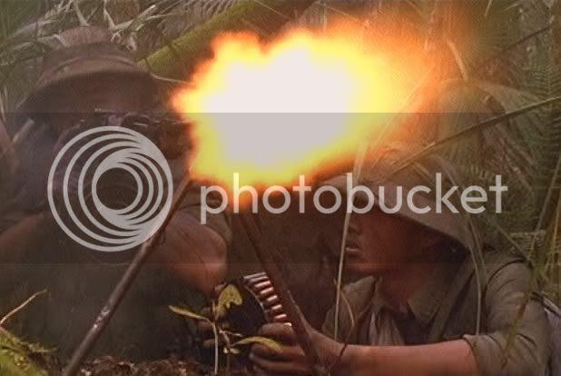 NVA firing RPD