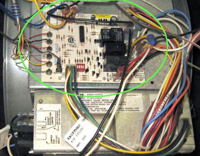 Nordyne Circuit Board Wiring Diagram