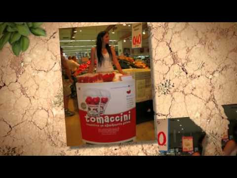 Tomaccini : The first snack tomato in Greece (first launched in 2009)