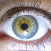 My eye up close - test