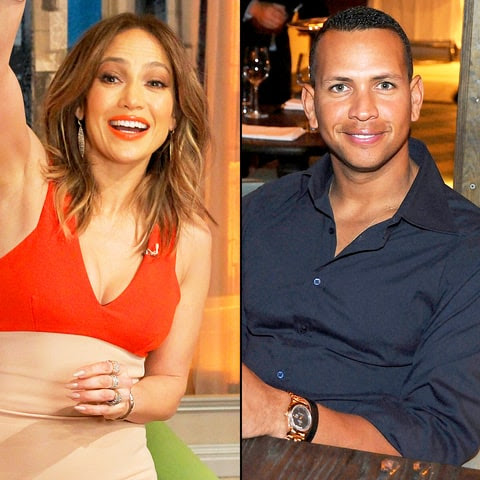 Jennifer Lopez and Alexander Rodriguez