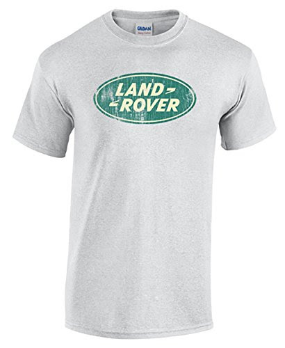 Land Rover Distressed T-Shirt-LightGrey-2XL