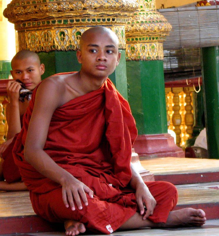 Monks Looking