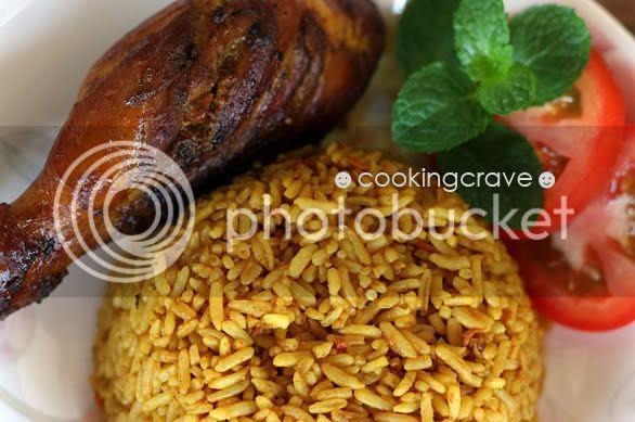 Turmeric Chicken Rice3