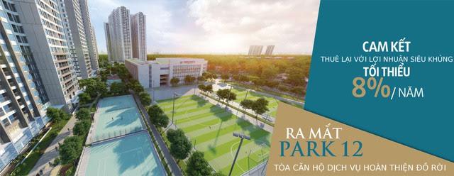 Park 12 được chủ đầu tư cam kết thuê lại với lợi nhuận lên đến 8%/năm