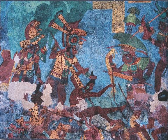 Wikimexico La Epopeya Mural De Bonampak