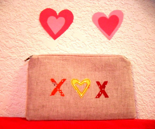 Hugs and Kisses Pouch