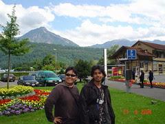 Kaki Gunung Mount Pilatus, Lucerne, Switzerland