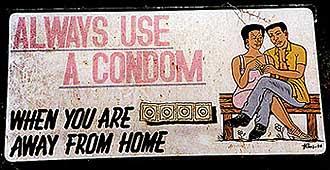 always use a condom!