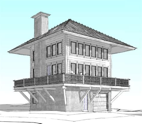 home plan  lookout   custom home  west