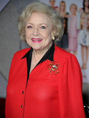 A atriz Betty White (Foto: AFP)
