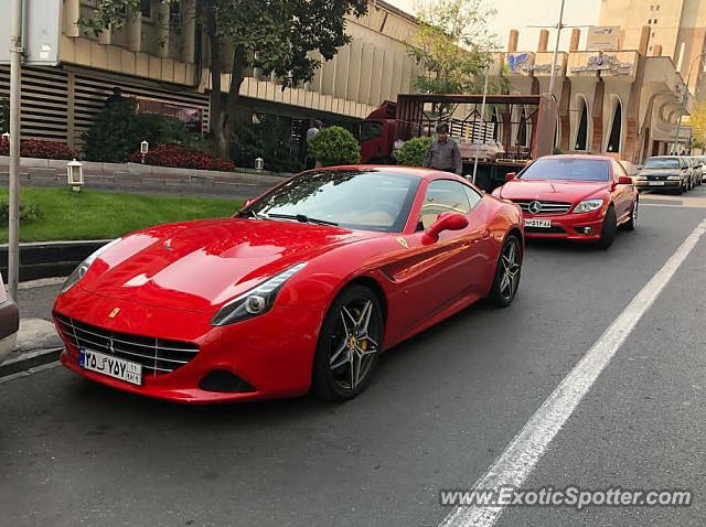 Ferrari California spotted in Tehran, Iran on 05/21/2019