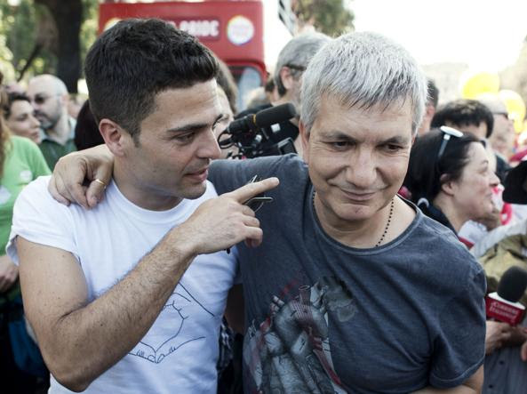 Nichi Vendola con il compagno Ed Testa: vivono a Terlizzi (Bari) dal 2004 (Mistrulli)