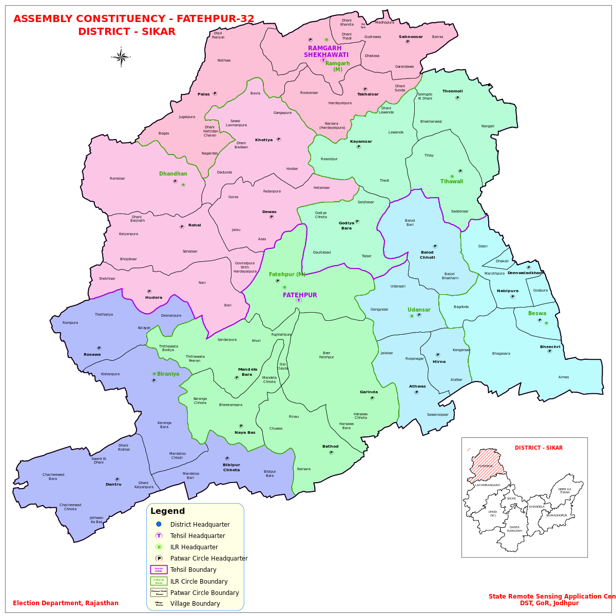 Fatehpur Rajasthan Assembly Constituency Wikipedia