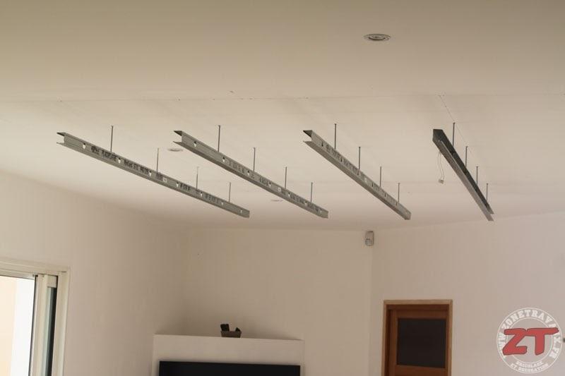 Decoration Faux Plafond Avec Gorge Lumineuse Led Spote