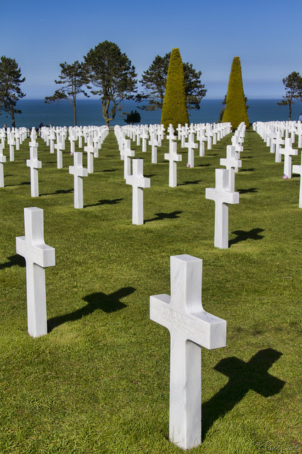 American Military Cemetery, Normandy, France