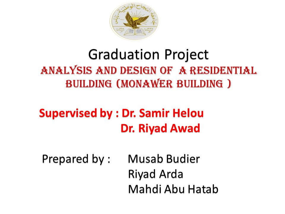 Analysis And Design Of A Residential Building Monawer Building