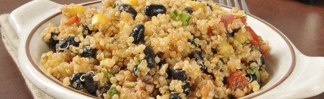 salada de quinoa e passas 5 saladas light que não vão te deixar com fome