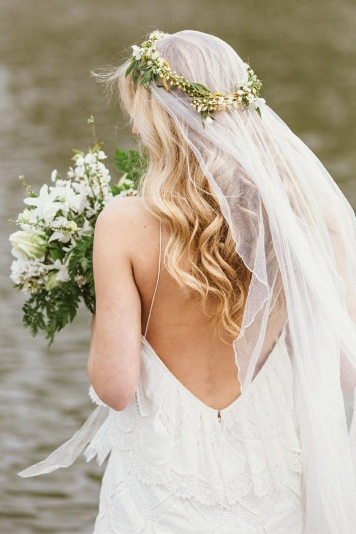 34 Beispiele Für Zeitlose Brautfrisuren Mit Schleier