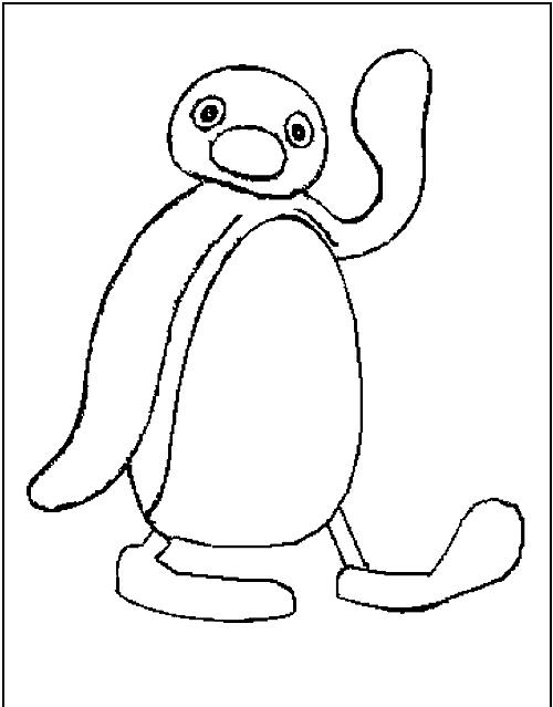 Pingu Pinguino Da Colorare Per Bambini Gratis Disegni Da Colorare