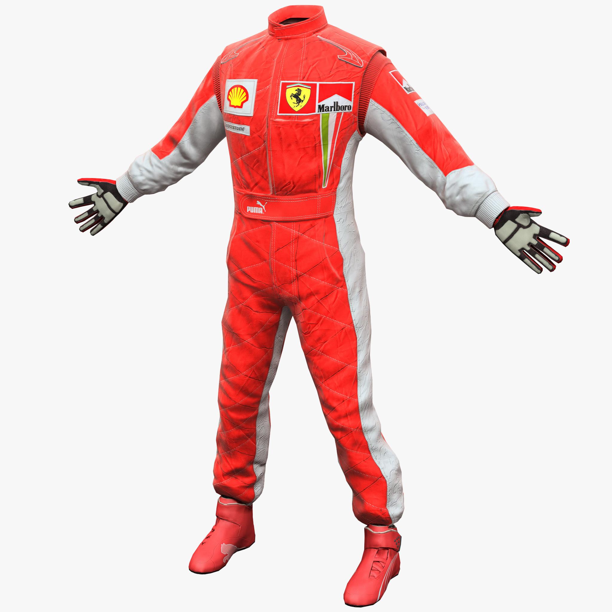 max racing clothes ferrari