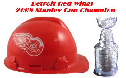 Detroit Red Wings Hard Hat