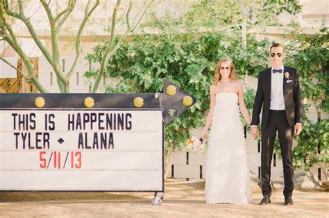 Laid Back Ace Hotel Palm Springs Wedding: Alana   Tyler