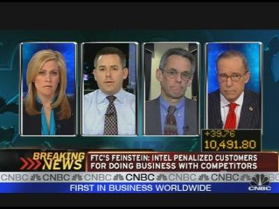 F.T.C.'s Feinstein on Intel Suit