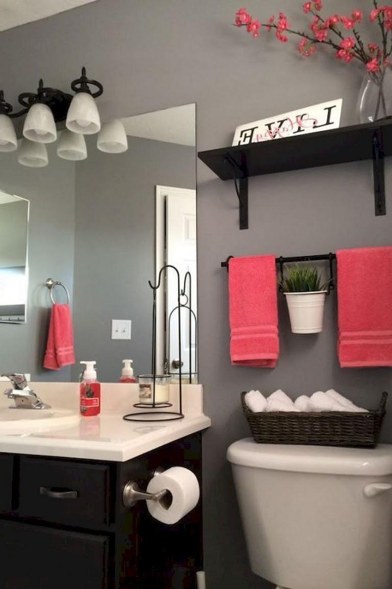 80+ Luxury Small Bathroom Decorating Ideas