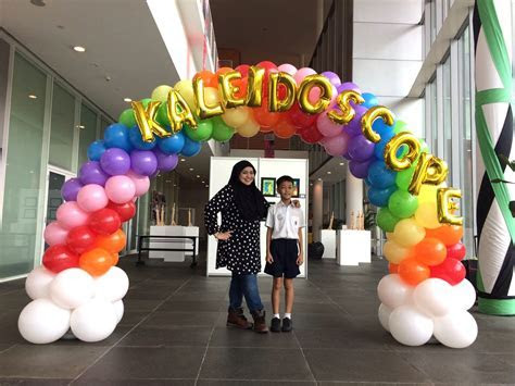 Rainbow Balloon Arch Singapore   THAT Balloons