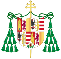 Coat of Arms of Archbishop Alonso of Aragon