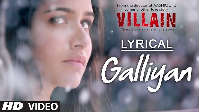 Teri Galliyan Lyrics in Hindi - Ek Villain