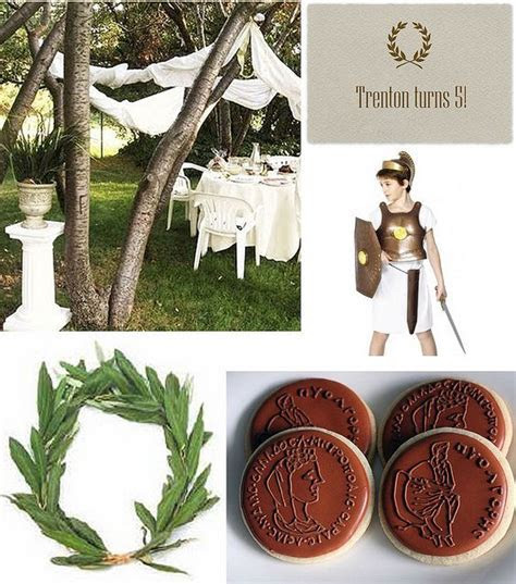 Ancient Olympian Party   Kid's Birthday Parties   Greek