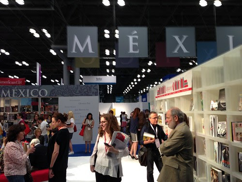 Mexico book area, BEA 2013