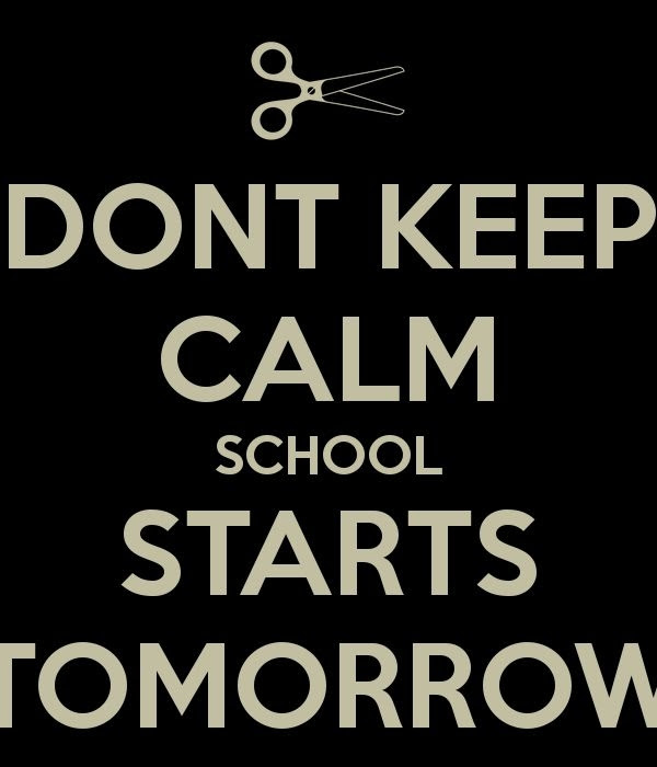 School Starts Tomorrow Pictures Photos And Images For Facebook
