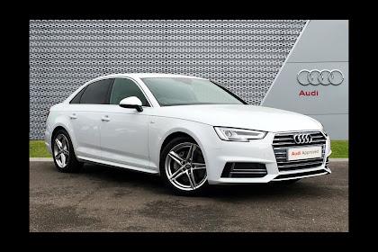 Audi A4 White 2017