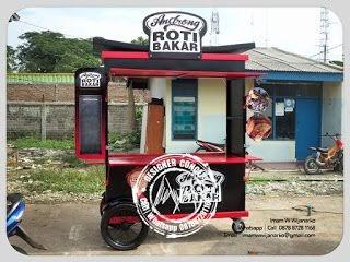Gerobak Roti Bakar Minimalis - andribudiman16
