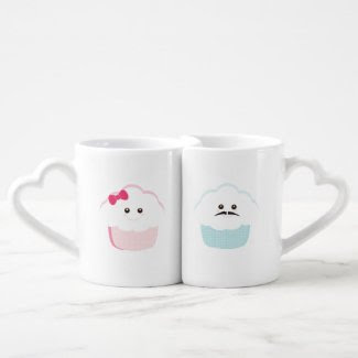 Cupcakes {His & Hers} Couple Mugs